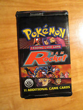 1x 1st edition Pokemon TEAM ROCKET Set Booster Card Pack From Box TCG Charizard?
