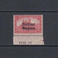 Altdeutschland Bayern Mi-Nr. 148 mit HAN-Nr. ** postfrisch