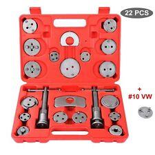 22pcs Universal Disc Brake Caliper Piston Compressor Wind Back Repair Tool Set