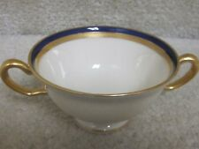 Vintage lenox decorative bowl-beautiful blue & gold trim, small
