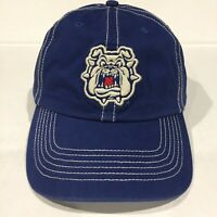 FRESNO STATE BULLDOGS NCAA Fan Favorite Hat Cap blue Official OSFA NEW w/ Tags!