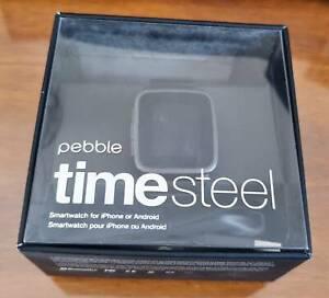 Smart Watch Pebble Timesteel Working Great