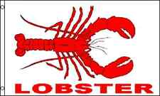 """""""LOBSTER"""" flag 3x5 ft polyester seafood food"""