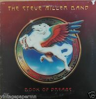 Steve Miller Band  Book Of Dreams  1977  Vinyl LP  Capitol Records  SO-11630