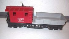2009 Lionel 6119-100 DL&W Work Caboose  O Gauge Train new in the box