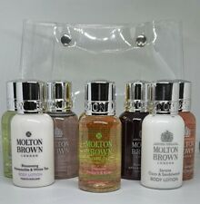 NEW Molton Brown Women's 8 Piece Body Wash and Lotion Taster MOTHER'S DAY gift