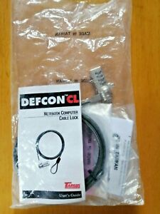 Targus Defcon Resettable T-Lock Combination Cable Lock for Notebook Computers