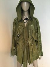 NWT FENTY PUMA BY RIHANNA BOXING AND BOMBER ROBE OLIVE GREEN SMALL $425 SOLD OUT