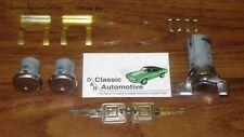Lock Set Door + Ignition 11pc Kit Camaro Chevelle Nova Corvette Pickup locks