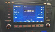 VW Golf 5 6 MFD 2 Navigation System Radio Navi 1K0035198C