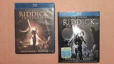 Riddick Collection - Pitch Black The Chronicles of Riddick Dark Fury - (Blu-Ray)