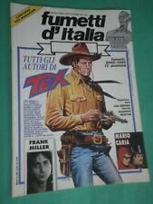 FUMETTI D'ITALIA N 12 1995 TEX M.Caria F. Miller Galep Ortiz Bonelli Villa  A
