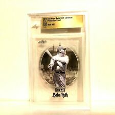 Babe Ruth 2019 Leaf Metal 1/1 Pre Production Proof #31 Clear BGS Slabbed