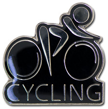 Cycling Bike Pin Badge