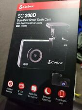 New listing Cobra Smart Dash & Rear Cam Sc 200D Qhd 1600P Voice WiFi Gps 16Gb Shared Alerts