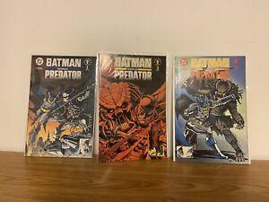 batman vs predator 1-3