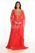 MODERN EXCLUSIVE  FANCY JILBAB ARABIAN DUBAI ABAYA WEDDING GOWN DRESS  143