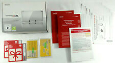 Nintendo 3DS Ice White  BOITE VIDE et notices PAS DE CONSOLE  Envoi rapide suivi
