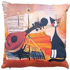 Rosina Wachtmeister Dekokissen Kissenhülle ohne Füllung 40 x40 cm Musical Cats