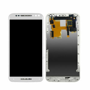 New Screen For Motorola Moto X Style White Replacement Frame Digitizer Assembly