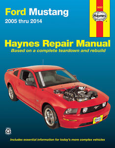 Ford Mustang (2005-2014) Haynes Repair Manual (USA)