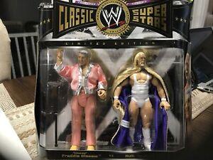 WWE Jakks Classic Superstars 2 Pack Classy Freddie Blassie & Hulk Hogan Limited