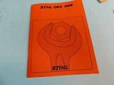 FOR STIHL CHAINSAW 064AV 066 SERVICE  REPAIR MANUAL  --------------- MAN47