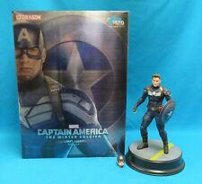 Dragon Marvel 1:9 Action Hero Vignette Model Kits Captain America Stealth Suit