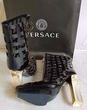 VERSACE Women's boots booties Plexi EU 41 / US 11 (rrp:2499$) LIMITED EDITION