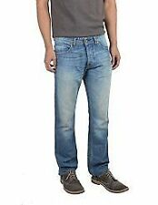 Extra Long Diesel Cotton Classic Fit, Straight Jeans for Men