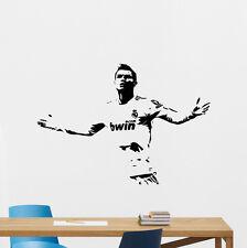 Cristiano Ronaldo Wall Stickers CR7 Sport Gym Football Vinyl Decals Decor 161hor