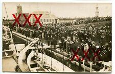 KREUZER EMDEN - orig. Foto, Auslandsreise, 1926, vor Abreise, Flottenchef