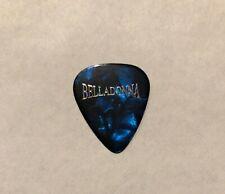 Joey Belladonna - Al Romano 2010 Tour Guitar Pick Signature Anthrax Blue Marble