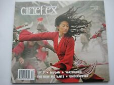 Cinefex magazine 170 Mulan, 1917, Watchmen, New Mutants