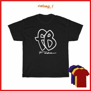FUBU FB hip hop Blackle T-shirt Sz S-5XL