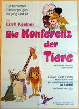 DIE KONFERENZ DER TIERE original deutsches A1 Kino Plakat 1969