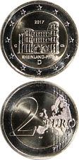 Alemania/Germany € 2 euro 2017 (g) UNC 'Rheinland-Pfalz-Porta Nigra'