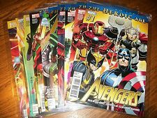 Marvel Comics The Heroic Age Avengers Complete Series Books #1-34 plus Annual