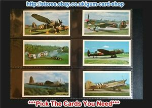 PLAYER'S - DONCELLA - THE GOLDEN AGE OF FLYING 1977 (G) *PLEASE SELECT CARD*