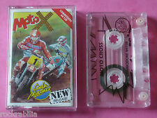 COMMODORE 64 C64-CODEMASTERS MOTO X MOTO CROSS 1989 * NUOVO!