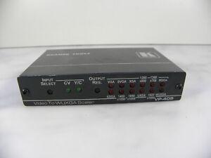 KRAMER VP-409 VIDEO to VGA PROSCALE DIGITAL SCALER (up to WUXGA) UK SELLR #BOX94