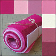 12x12 Wool Felt Sheets -Be Mine Collection - 7 Sheets of Merino Felt