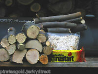 Apple Wood Sticks Chips & Sawdust for BBQ Smoking