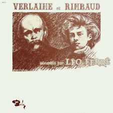 LEO FERRé Verlaine Et Rimbaud FR Press Barclay 80236/37 2 LP