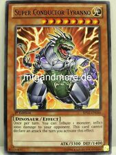 Yu-Gi-Oh - 1x Super Conductor Tyranno - Rare - BP02 - War of the Giants engl.