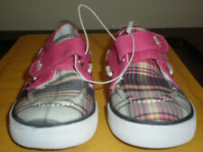 RALPH LAUREN PINK AND PLAID SNEAKERS NEW SIZE 9