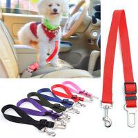 New 1PC Dog Cat Adjustable Car Seat Safety Belt Lead Collar Strap Pet Supplies