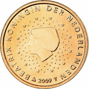 [#699590] Pays-Bas, 2 Euro Cent, 2009, FDC, Copper Plated Steel, KM:235