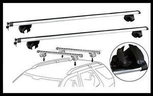 2xNEW CROSS BAR ROOF RACK For HYUNDAI ELANTRA LAVITA 2000 - 2005 with key access