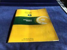 John Deere JD 1010 Series Drawn Field Cultivators Operators Manual OM-N159496